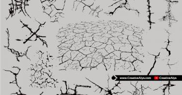 vector-earth-cracks