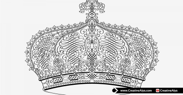 Vector-Calligraphic-Crown