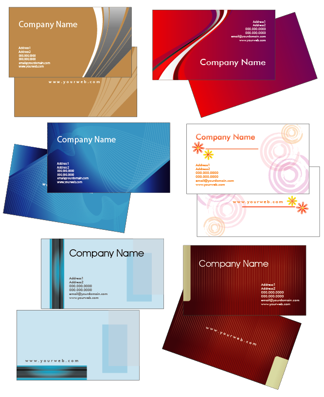 Creative Business Card Templates - 2