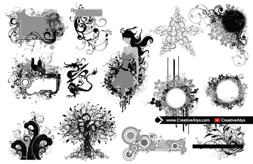 Grunge-Vector-Designs