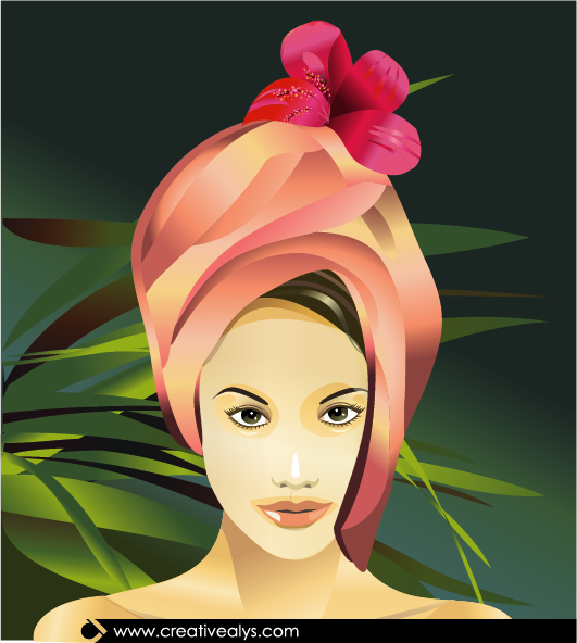 Spa Beauty Vector