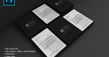 Letterhead-PSD-Mockup