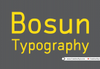 bosun-typography