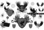 heraldic-elements-and-crests-for-logo-design