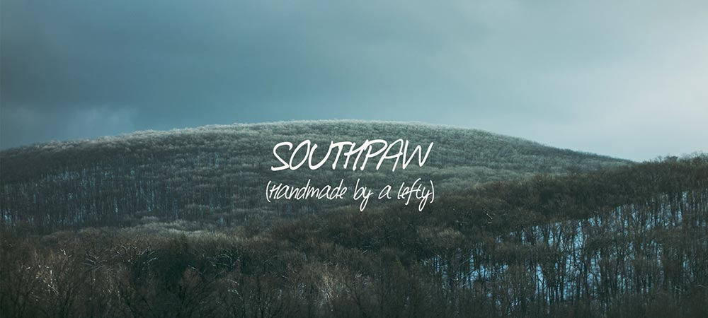 Southpaw Typography