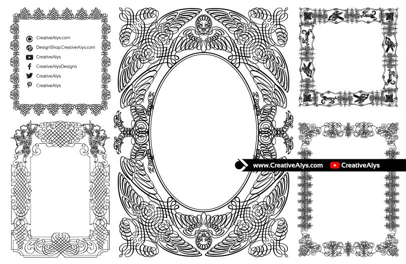Beautiful-Calligraphic-Borders