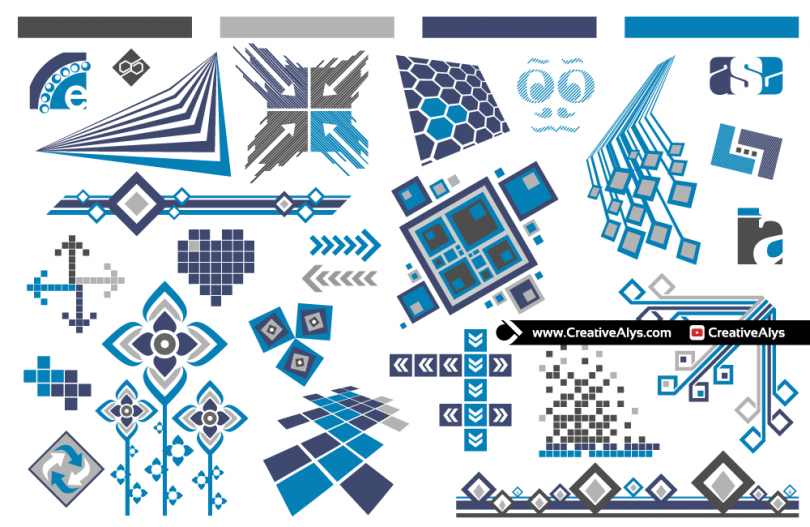abstract-vector-design-elements