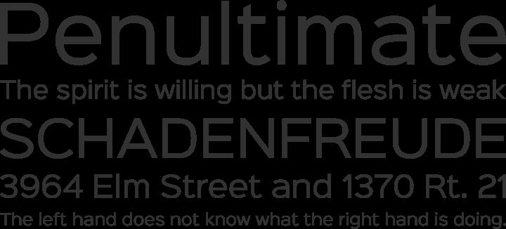 SinkinSans-Fresh-Font