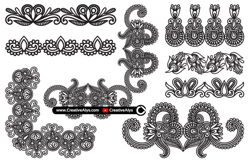 Beautiful-Hand-Drawn-Ornaments