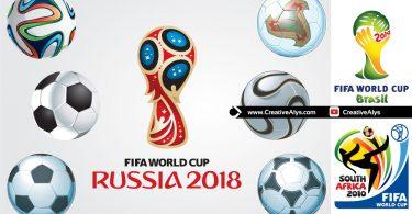 FIFA-Worldcup-vector-Footballs-Logos