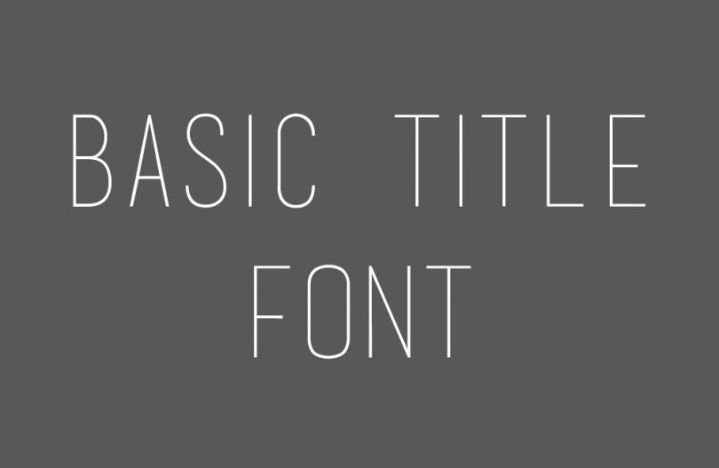 basic-title-font