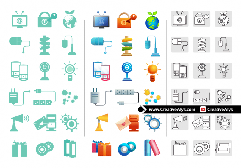 Beautiful-Web-App-Icons