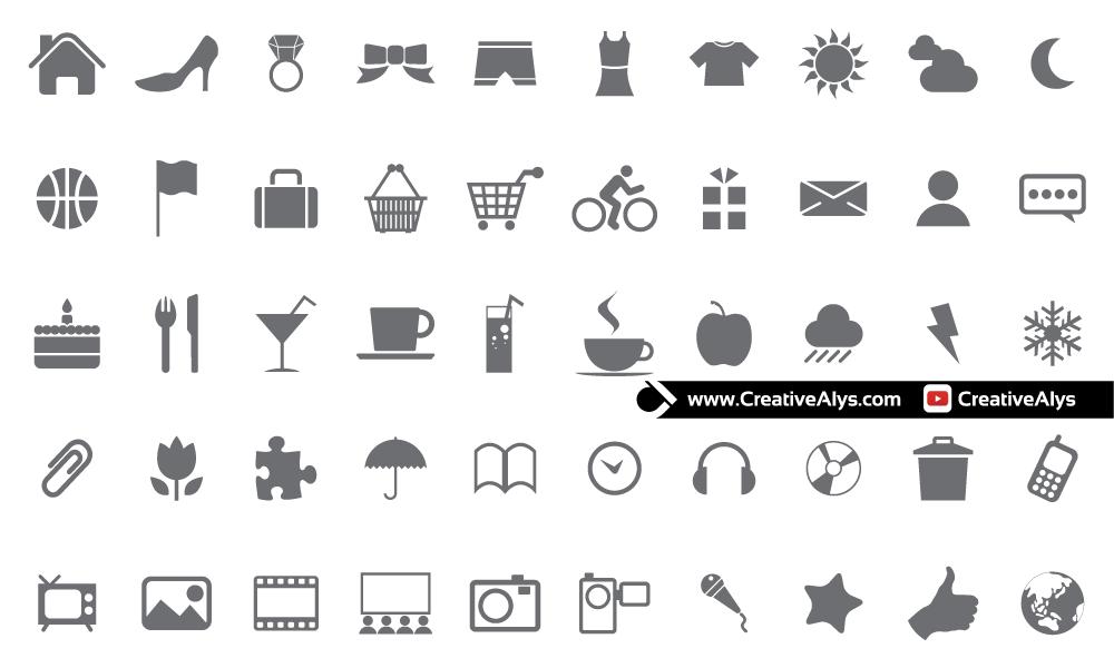 Modern-Web-Icons