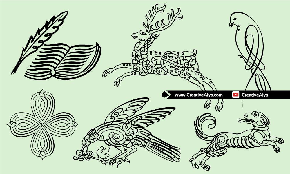 Vector-Calligraphic-Art
