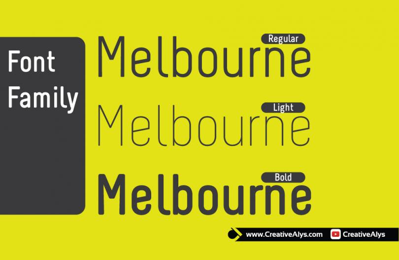 melbourne-font-family
