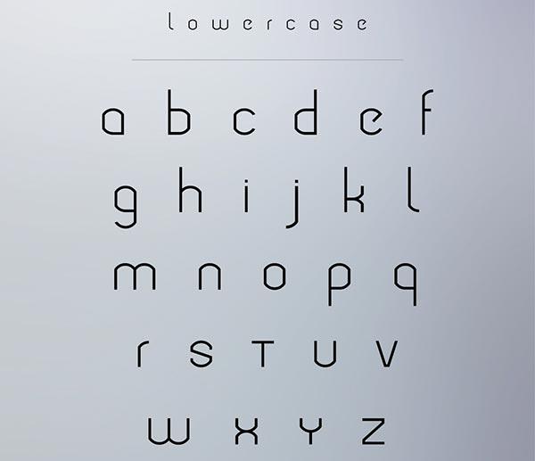 modeka-free-modern-typeface-lowercase