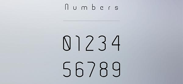 modeka-free-modern-typeface-numbers