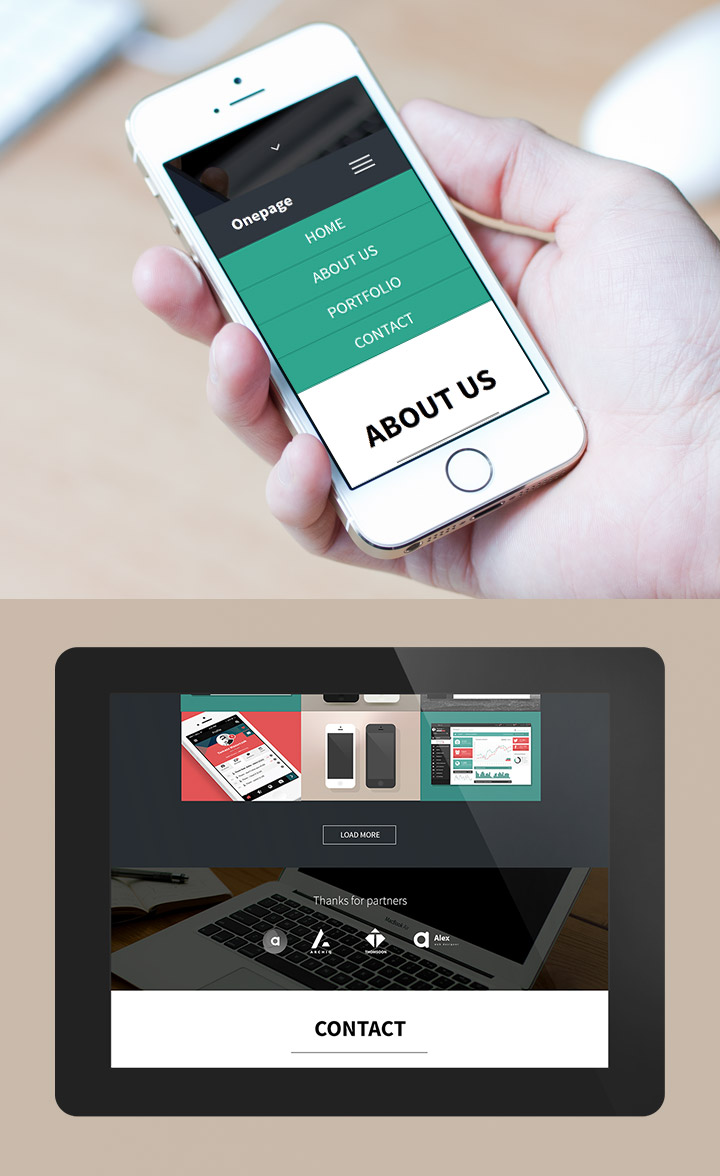 Free HTML5 OnePage Responsive Template – Creative Alys