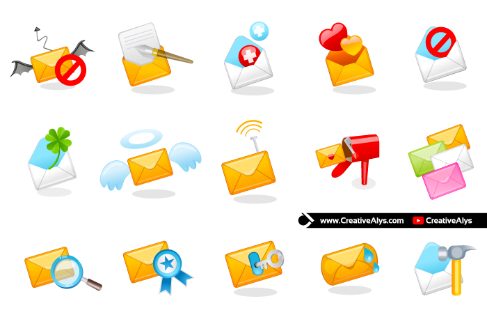 Beautiful Mail Icons