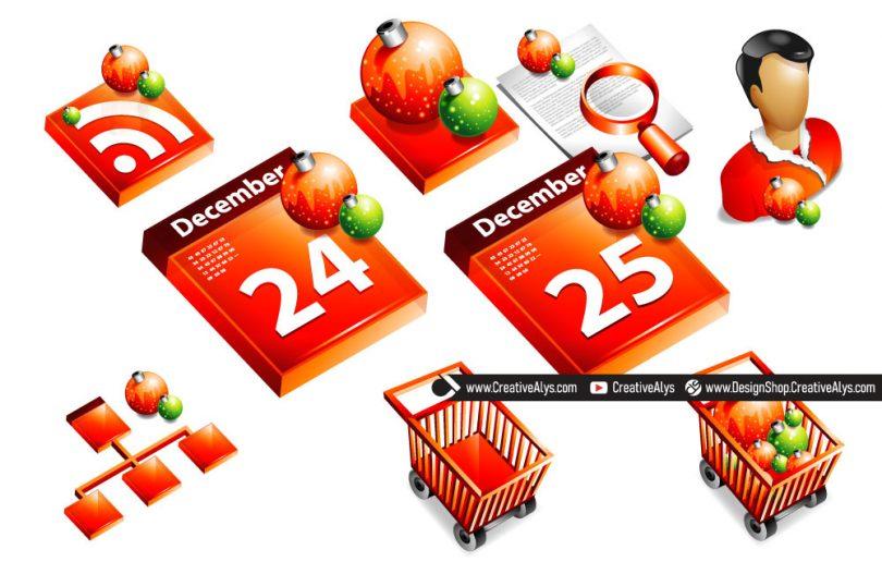 Christmas-3D-Icons