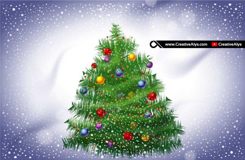 Free-Vector-Christmas-Tree