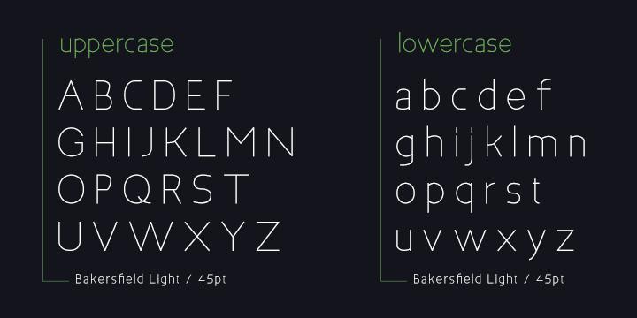 Bakersfield font (3)