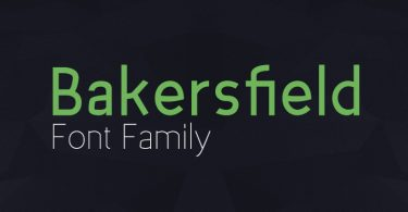 Bakersfield-font