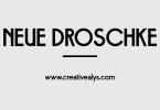 Neue-Droschke-Font-img