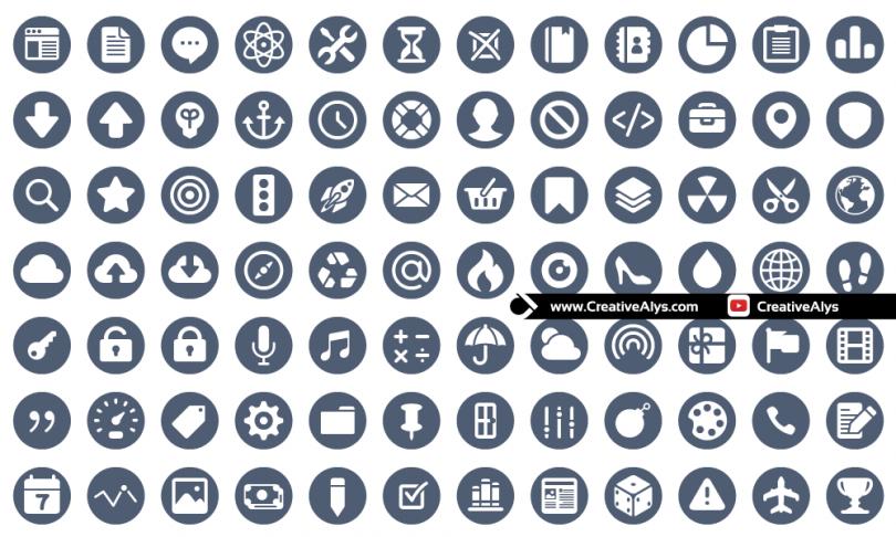 Stylish-Circle-Icons