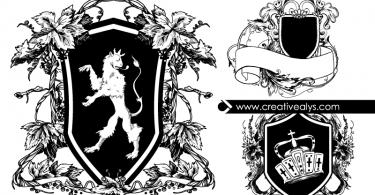 Heraldic-Vector-Shields