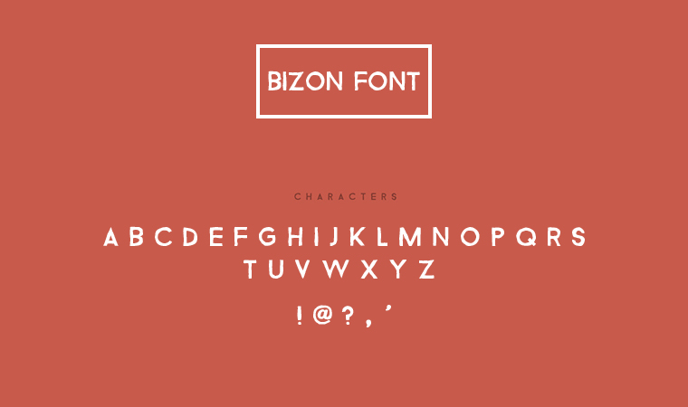 bizon_font_preview