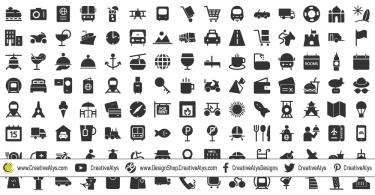 150-travel-icons