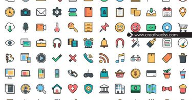 Modern-UI-Colorful-Icons