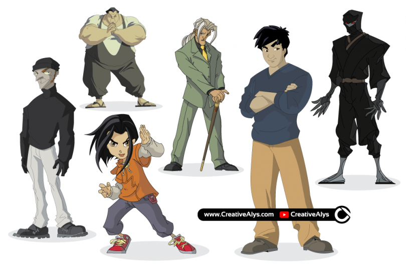 Jackie-Chan-Adventures-Cartoon-Characters