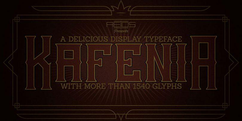 kafenia-font
