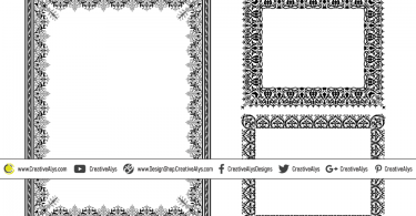 Ornamental-Vector-Frames