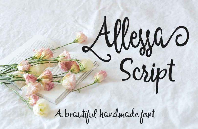 allessa-script-font