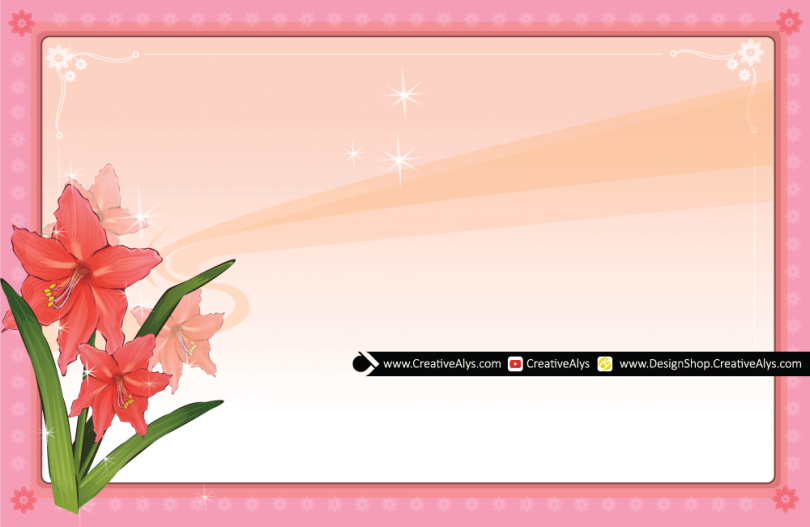 Vector-Flower-Frame