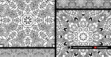 seamless-vector-orential-patterns