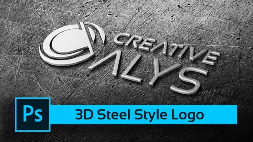 3D-Steel-PSD-Logo-Mockup