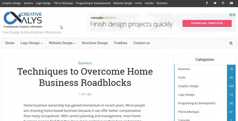 Techniques to Overcome Home Business Roadblocks