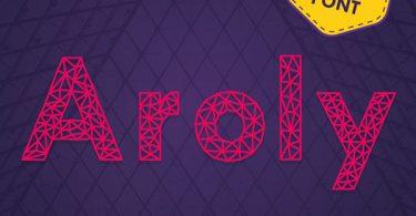 aroly heading font