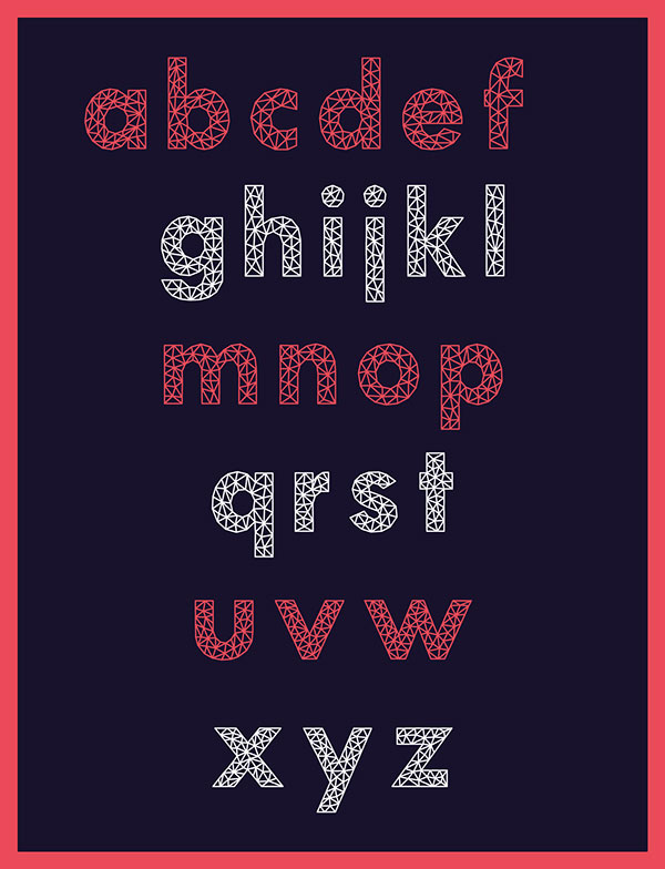 Aroly Font Small Letters