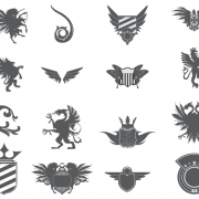 Heraldic Elements Vector Pack