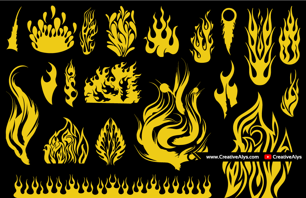 Vector-Flames-Collection