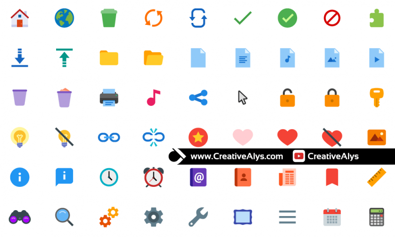 Basic-Flat-Color-Icons