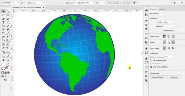How-To-Create-3D-Vector-Globe-in-Adobe-Illustrator