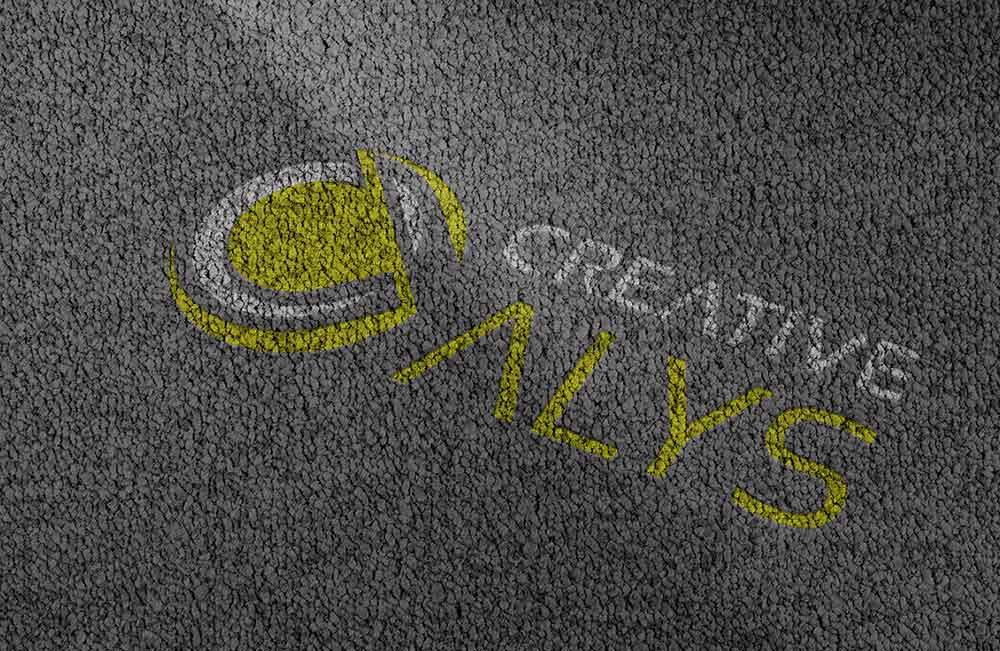 Clean Carpet Logo PSD Mockup   Creative Alys