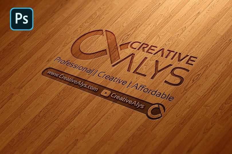 Wood-Engraved-Logo-Mockup