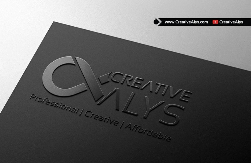 card-embossed-logo-mockup
